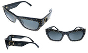 Versace VE 4358A GB1/87 Rectangle Sunglasses