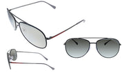 Prada Linea Rossa PS 55US 6BJ2B0 Pilot Sunglasses