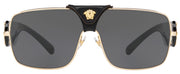 Versace 2207Q Rectangle Sunglasses