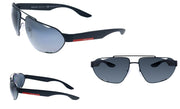 Prada Linea Rossa PS 56US DG05Z1 Geometric Sunglasses