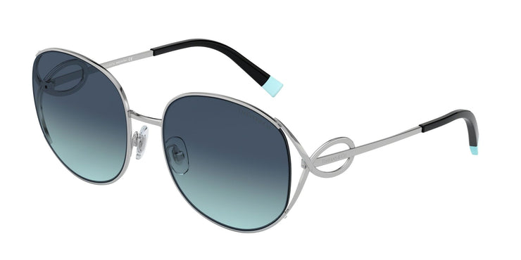 Tiffany & Co. 0TF3065 Women's Pillow Sunglasses