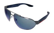 Prada Linea Rossa PS 56US DG1387 Pilot Sunglasses