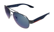 Prada Linea Rossa PS 57US DG1387 Pilot Sunglasses