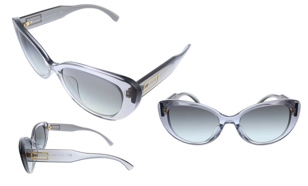 Versace VE 4378F 593/11 Cat-Eye Sunglasses