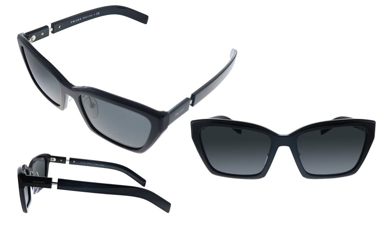 Prada PR 14XS 1AB5S0 Cat Eye Sunglasses