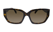 Prada PR 15XS 2AU8C1 Rectangle Sunglasses