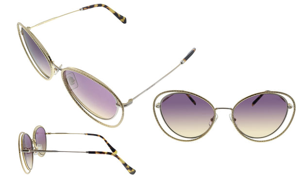 Miu Miu MU 59VS 09D09B Butterfly Sunglasses