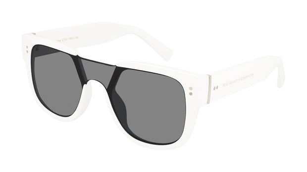 Prive Revaux Love Valentine White Square Sunglasses