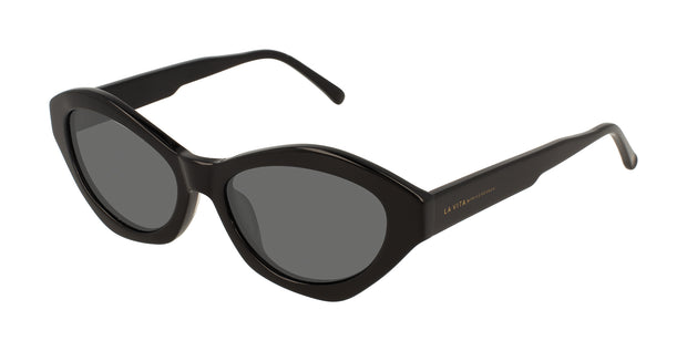 Prive Revaux Modena Moves Black Oval Sunglasses
