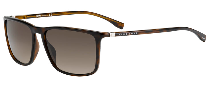 Men's Hugo Boss 0665 Rectangle Sunglasses