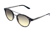 Carrera CA Carrer a123 Grey Tortoise Plastic Round Sunglasses Grey Gradient Lens