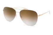 Barton Perreira Chevalier Gold Gold Rush Aviator Sunglasses