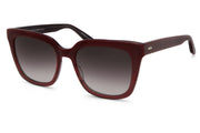 Barton Perreira Oxblood Square Sunglasses