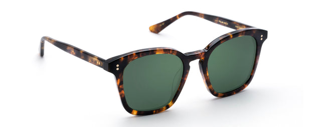 Krewe PRYTANIA GRN POL Rectangle Sunglasses