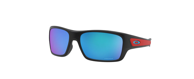 Oakley Junior OJ TURBINE XS MT BLK PRZM SAP Rectangle Sunglasses