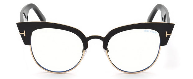 Tom Ford 0607 Blue Block Alexandra Round Glasses