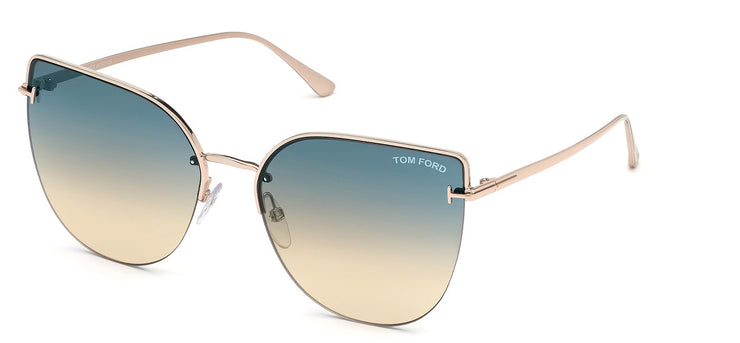 Tom Ford FT0652 6028P Cateye Sunglasses
