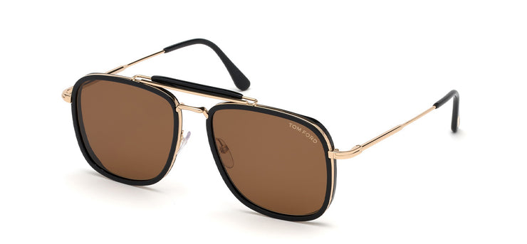 Tom Ford FT0665 5801E Navigator Sunglasses