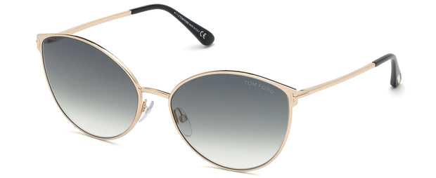 Tom Ford 0654 Zeila Cat-Eye Sunglasses