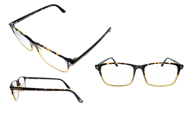 Tom Ford FT 5584B 055 Rectangle Eyeglasses