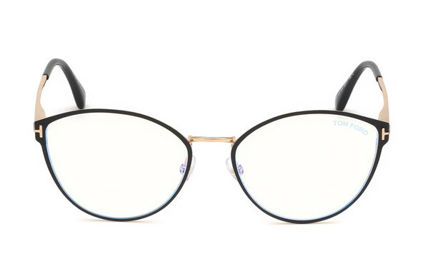 Tom Ford FT5573-B 005 Cateye Optical Frames