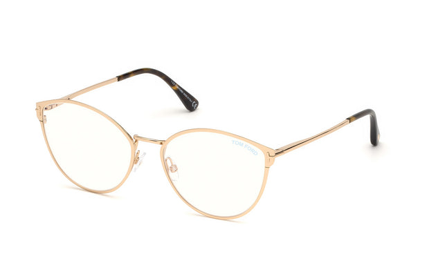 Tom Ford FT5573-B 028 Cateye Optical Frames