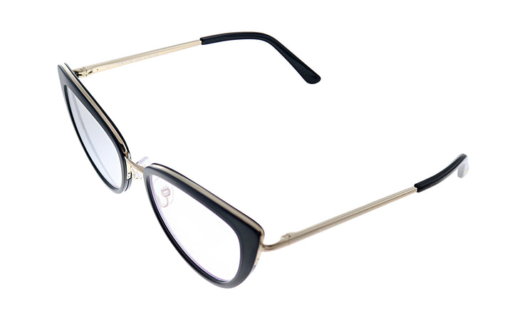 Tom Ford FT 5580B 001 Cat-Eye Eyeglasses