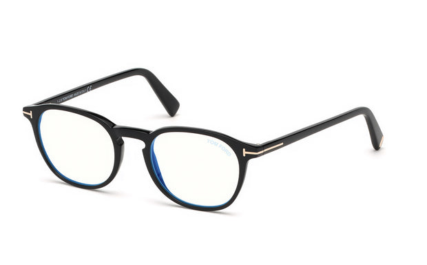 Tom Ford FT5583-B 001 Round Optical Frames