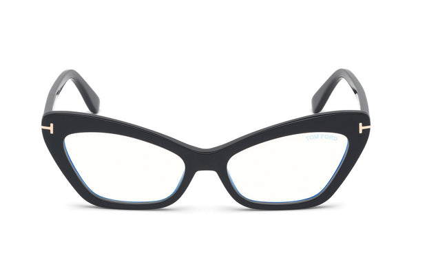 Tom Ford FT5643-B 001 Cateye Optical Frames