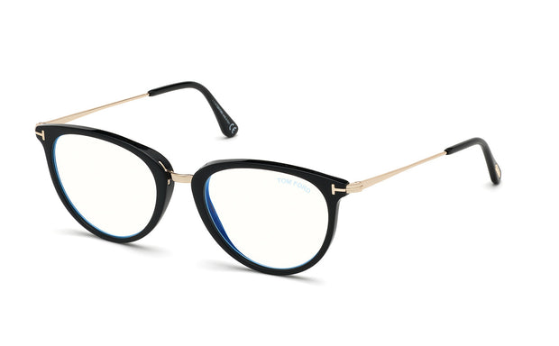 Tom Ford FT5640-B 001 Cateye Optical Frames