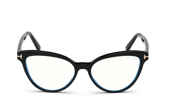 Tom Ford FT5639-B 001 Cateye Optical Frames