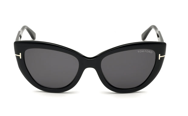 Tom Ford FT0762  Anya POL W Cateye Sunglasses