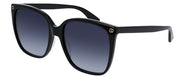 Gucci GG 0022 Rectangle Sunglasses