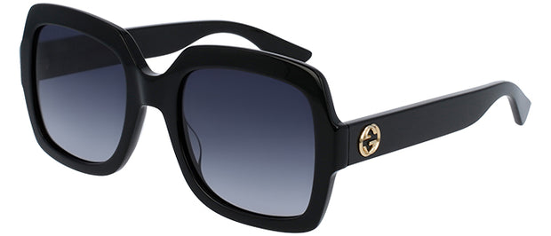 Gucci GG 0036S Rectangle Sunglasses