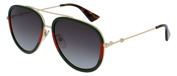 Gucci 0062S Aviator Sunglasses