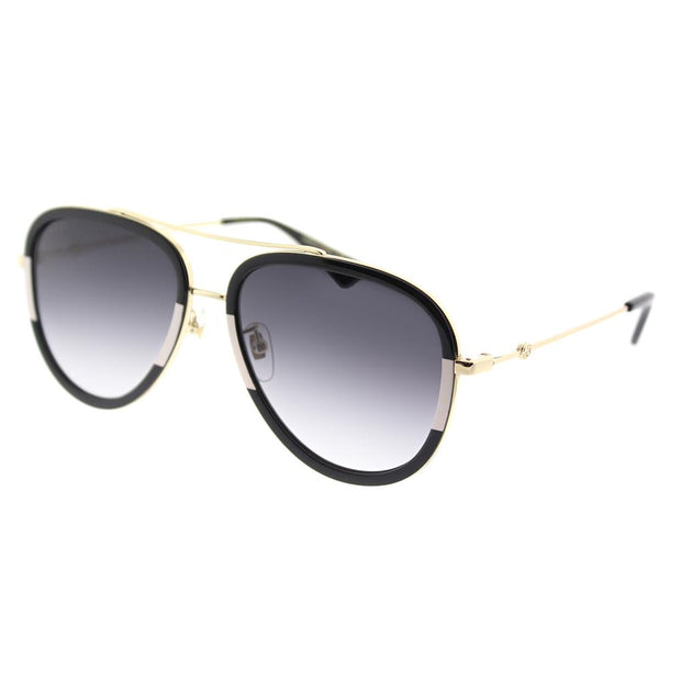 Gucci GG 0062S 006 Aviator Sunglasses