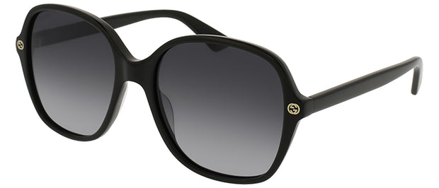 Gucci GG 0092 Square Sunglasses - Women's