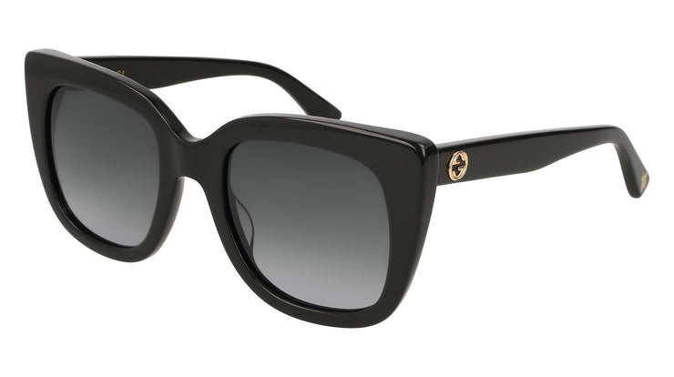 Gucci GG GG0163/S W Cat-Eye Sunglasses