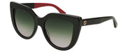 Gucci 0164 Women's Cat-Eye Sunglasses