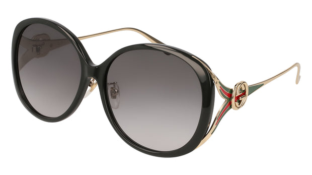 Gucci GG0226 Women's Oval Sunglasses
