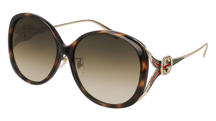 Gucci GG0226 Oval Sunglasses - Women
