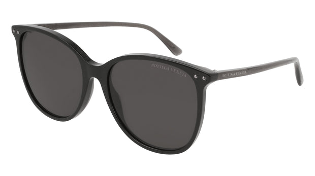 Bottega Veneta BV0160S-001 Rectangle Sunglasses
