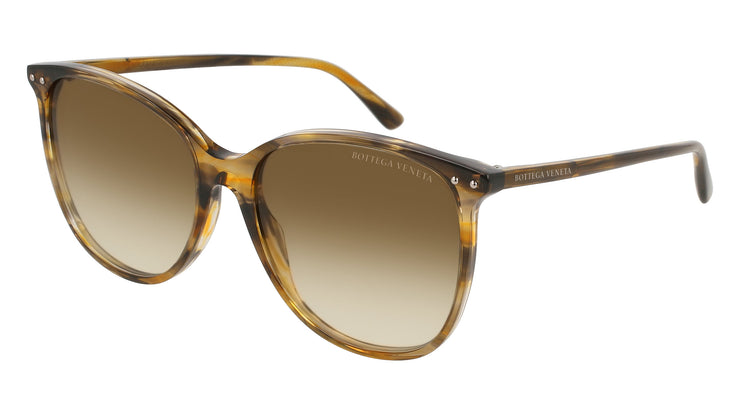 Bottega Veneta BV0160S-003 Women's Rectangle Sunglasses