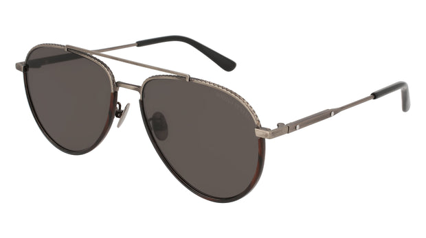 Bottega Veneta BV0172S-001 Women's Aviator Sunglasses