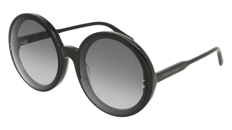Bottega Veneta BV0166SA-001 Women's Round Sunglasses