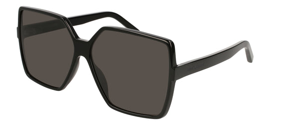 Saint Laurent SL 232 BETTY Rectangle Sunglasses