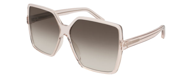 Saint Laurent SL232 BETTY Rectangle Sunglasses
