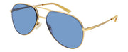 Gucci GG 0356 Aviator Sunglasses