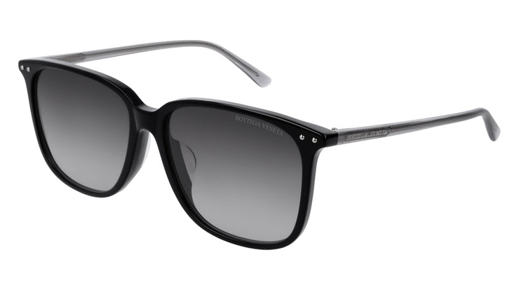 Bottega Veneta BV0191SA-001 Rectangle Sunglasses