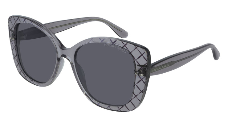 Bottega Veneta BV0198S-001 Rectangle Sunglasses